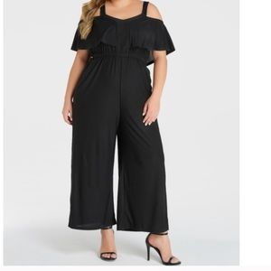 Yoin black jumpsuit with pockets